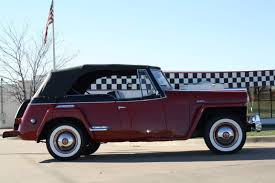 willys jeepster 1949 willys overland jeepster vj3 2 door phaeton nicely restored
