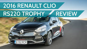 2016 Renault Clio Rs Trophy Test Drive Small Cup Of Pureness