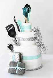 bridal gift bridal shower gift idea towel cake squared