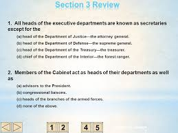 Who Is The Head Of The Department Of Interior C H A P T E R 15 Government At Work The Bureaucracy Ppt Video