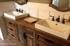 Repurposed Bathroom Vanity by Dresser Made Into Bathroom Vanity Bathroom Decoration