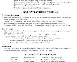 sample cover letter for maintenance position warehouse driver cover letter