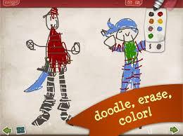 pirate scribblebeard u0027s treasure oscar u0026 josephine kidoodle apps