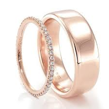 Rose Gold Wedding Ring by Best 25 Rose Gold Bands Ideas On Pinterest Wedding Ring Gold