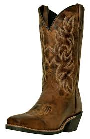womens cowboy boots uk laredo s breakout 12 square toe cowboy boots rust