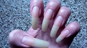 my long natural bare nails with no nail polish youtube