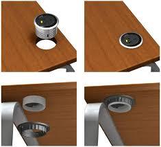 Office Desk Power Sockets Pixel Small Power Data Unit 80mm Grommet Oe Electrics