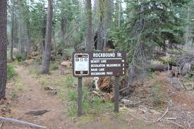 Desolation Wilderness Map Barrett Jeep Trail Into Desolation Wilderness