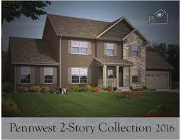 pennwest homes 2 story floor plans by the commodore corporation