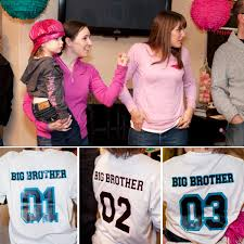 baby shower shirt ideas girl vs boy gender reveal party hostess with the mostess