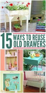 Diy Repurposed Furniture Ideas Best 25 Reuse Furniture Ideas On Pinterest Old Dresser Redo