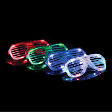 party sunglasses with lights partysticks 12 pc led party sunglasses for adults teens usa toyz