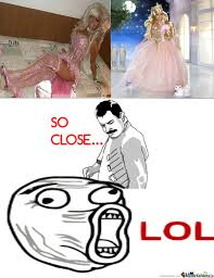 I M A Barbie Girl Meme - rmx look at me mom i m like barbie girl d by xloverochellex