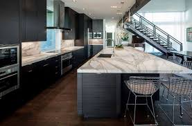 Kitchen With Black Cabinets 50 High End Dark Wood Kitchens Photos Designing Idea