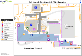 Airport Terminal Floor Plans by Denpasar Bali Island Ngurah Rai Bali International Dps