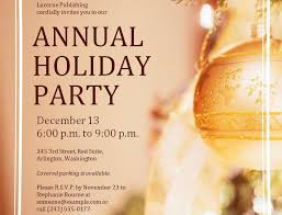 holiday party invitation template free theruntime com