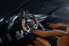 toyota ft 1 graphite concept interior automotive interiors