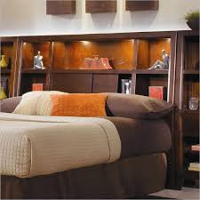 Headboard Bookshelves by Best King Storage Headboard Affordable Diy Queen Storage Bed With