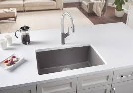 blanco metallic gray sink precis u single 27 and 24 blanco