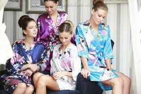waffle robes for bridesmaids peacock robes satin bridesmaid robes cheap satin robes