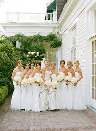 all white country club wedding in portland designed by mindy weiss