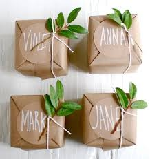 best gift wrap creative gift wrap from brown paper bag and a nature component