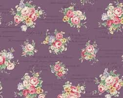 rose fabric etsy