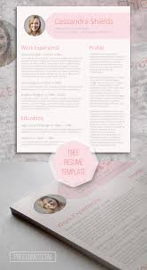 girly feminine resume template on word blush and pixie the pink resume template giveaway template and