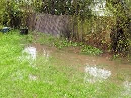 Water Drainage Problems In Backyard Water Drainage Best Waterproofing Louisville Ky