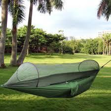 amazon com camping hammock topist hammock tent pop up mosquito