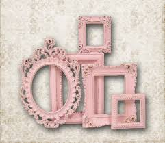 girls bedroom nice pink accent oval and square mirror frame for