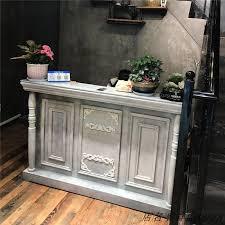 Salon Reception Desk Usd 114 23 European Vintage Cashier Counter Barber Bar Clothing