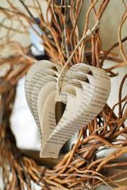 diy easy book page ornaments a step by step tutorial for