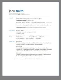 modern resume templates word template format view download cv