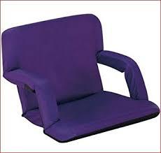 amazon com naomi home venice portable reclining seat with armrest
