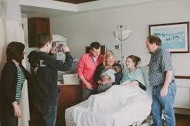 visitors in hospital after birth popsugar moms