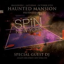 haunted mansion presented by spin new york tickets spin new