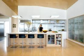 cuisine ouverte avec ilot central cuisine central plan cuisine