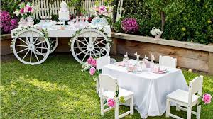 how to behave in the garden party invitation service menu