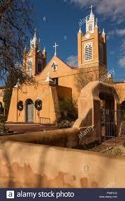 san felipe de neri church historic adobe style catholic church in