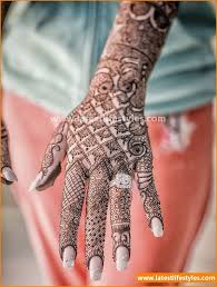 new bridal mehndi designs 2016 for your wedding day life with style