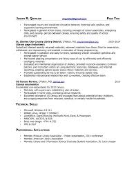 1 page resume exle librarian resume exles library page resume sle resume for