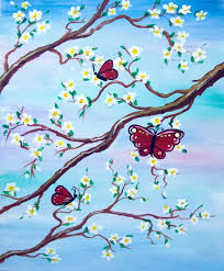 spring painting ideas 11 best paint nite pics images on pinterest painted canvas canvas