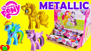 Mlp Blind Bag My Little Pony Chrome Mini Figures Blind Bags Youtube