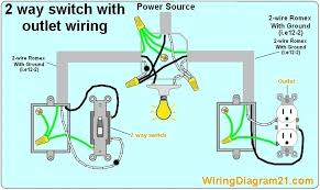 outlet to switch to light wiring diagram wiring diagram and