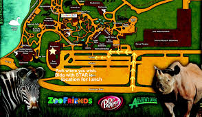 Washington Dc Zoo Map by Zoo Grounds Map Afp Ok Oklahoma Chapter