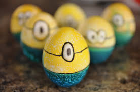 Make Decorated Easter Egg Ideas by How To Make Minion Easter Eggs