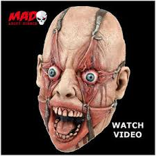 scary tortured man hamulus fear mask for creepy mens halloween