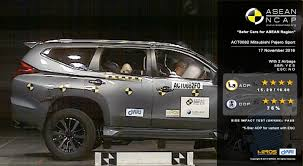 pajero sport mitsubishi asean ncap gives the 2017 mitsubishi pajero sport a 5 star rating