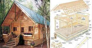 a frame cabin plans free build this cozy cabin for 6000 home design garden